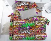 Детское постельное белье Svit бязь ГОСТ 1,5-спальное 70х70 см ГРАФИТИ