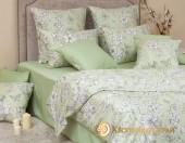 Постельное белье Хлопковый Край Роскошный ГРАЦИЯ ФИСТАШКА-3 сатин 1,5-спальное 70х70 см