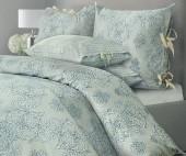 Постельное белье Mona Liza SL Chalet сатин 1,5-спальный 70х70 см арт.Грозовой синий 5757/2