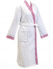 Халат женский махровый Cleanelly арт.ХЦС-901-1143 мд.26 цв.101 р.48