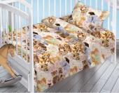Детское постельное белье Valtery поплин бэби 40х60 см ИГРУШКИ