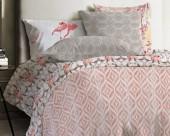 Постельное белье Mona Liza Japanese ранфорс 1,5-спальный 70х70 арт.Ikat