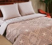 Постельное белье с простыней на резинке АртПостель ИТАЛИЯ поплин 2-спальное70х70 см
