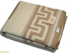 Одеяло из новозеландской шерсти Влади ЖАККАРД 2-спальное 170х210 см