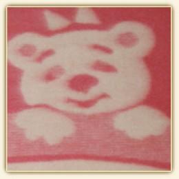 """Одеяло детское из новозеландской шерсти Влади """"Жаккард Люкс"""" 100х140 см"""