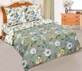 Постельное белье с простыней на резинке АртПостель ЖАКЛИН поплин 2-спальное70х70 см
