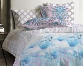 Постельное белье Mona Liza Japanese ранфорс 2-спальный 70х70 арт.Crane