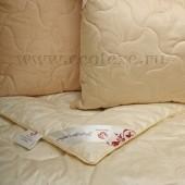 Одеяло Экотекс Кашемир Козья шерсть всесезонное евро 200х220 см