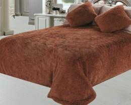 Чехлы для дивана (1 шт) + кресло (2 шт) DO&CO светло-коричневый