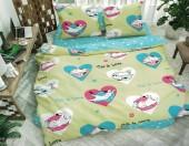 Детское постельное белье Svit бязь ГОСТ 1,5-спальное 70х70 см КОШКИ