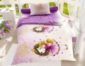 Детское постельное белье Svitweet НА РЕЗИНКЕ бязь ГОСТ 1,5-спальное 50х70 см арт.105 Маленькая принцесса