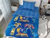 Детское постельное белье Svitweet НА РЕЗИНКЕ бязь ГОСТ 1,5-спальное 50х70 см арт.141 Трансформеры