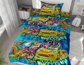 Детское постельное белье Svitweet НА РЕЗИНКЕ бязь ГОСТ 1,5-спальное 50х70 см арт.193 Фристайл