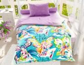 Детское постельное белье Svit бязь ГОСТ 1,5-спальное 70х70 см ФЕИ 195