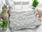 Постельное белье Svit New Line бязь ГОСТ 1,5-спальное 70х70 см арт.Ласточки бежевый