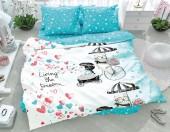 Детское постельное белье Svit бязь ГОСТ 1,5-спальное 70х70 см МЕЧТА ЛАЗУРЬ