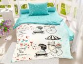 Детское постельное белье Svitweet НА РЕЗИНКЕ бязь ГОСТ 1,5-спальное 50х70 см арт.60 Мечта