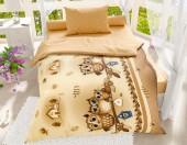 Детское постельное белье Svitweet НА РЕЗИНКЕ бязь ГОСТ 1,5-спальное 50х70 см арт.62 Совушки