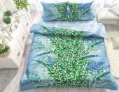 Постельное белье Svit бязь ГОСТ 1,5-спальное 70х70 см арт.Ландыши зеленый
