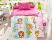 Детское постельное белье Svitweet НА РЕЗИНКЕ бязь ГОСТ 1,5-спальное 50х70 см арт.69 Модные девочки