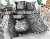 Постельное белье Svit бязь ГОСТ 1,5-спальное 70х70 см арт.Тигр черный