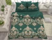 Постельное белье Svit бязь ГОСТ 1,5-спальное 70х70 см арт.Роскошь зеленый 086