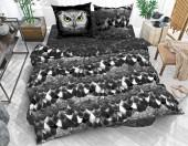 Постельное белье Svit бязь ГОСТ 1,5-спальное 70х70 см арт.Сова черный