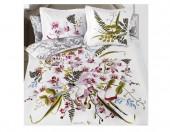 Постельное белье Mona Liza SL Secret Gardens сатин панно 2-спальный 4 наволочки арт.Orchid 5658/5