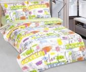 Детское постельное белье АртПостель КРАСКИ ГОРОДА поплин 1,5-спальное 70х70 см