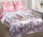 Детское постельное белье АртПостель ЛАСКОВЫЙ МИШКА поплин 1,5-спальное 70х70 см