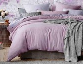 Постельное белье Mona Liza Actual сатин однотонный 2-спальный 50х70 см арт.5204/52 Лаванда (т.орхидея-лиловый)