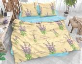 Постельное белье Svit New Line бязь ГОСТ 1,5-спальное 70х70 см арт.Лавандовый сад бежевый