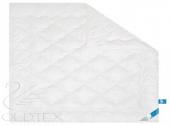 Одеяло ГолдТекс ЛЕБЯЖИЙ ПУХ, хлопок всесезонное 1,5-спальное 140х205 см