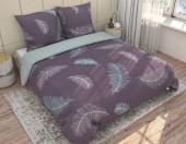 Постельное белье Svit бязь ГОСТ 2-спальное макси 70х70 см арт.Легкие перья 201