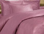 Постельное белье Mona Liza Royal ЛЕНТЫ РОЗОВЫЕ-15 жаккард 2-спальный 4 наволочки