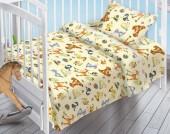 Детское постельное белье Valtery поплин бэби 40х60 см ЛЕСНЫЕ ОБИТАТЕЛИ