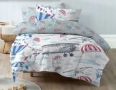 Детское постельное белье Mona Liza бязь 1,5-спальное 50х70 см ЛЕТЧИКИ