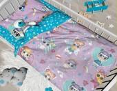 Детское постельное белье Svit ЛУННЫЙ ЗАЙЧИК бязь ГОСТ ясельный 40х60 см арт.50 Лолы