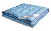 Одеяло Dargez ЛОЗАННА пух Экстра сатин легкое 2-спальное 172х205 см