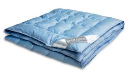 Одеяло Dargez ЛОЗАННА пух Экстра сатин легкое 1,5-спальное 140х205 см