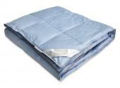 Одеяло Dargez ЛОЗАННА пух Экстра сатин теплое 1,5-спальное 140х205 см
