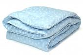 Одеяло ПИЛЛОУ Лебяжий пух Люкс в тике теплое 2-спальное 172х205 см