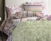 Постельное белье Mona Liza Japanese ранфорс 2-спальный 70х70 арт.Grass