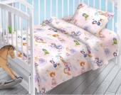 Детское постельное белье Valtery поплин бэби 40х60 см МАЛЕНЬКАЯ ПРИНЦЕССА