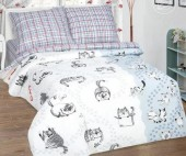 Детское постельное белье АртПостель МЕЙСОН поплин 1,5-спальное 70х70 см