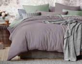 Постельное белье Mona Liza Actual сатин однотонный 2-спальный 50х70 см арт.5204/55 Миндаль (бузина-фисташка)