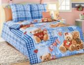 Детское постельное белье Svit бязь ГОСТ 1,5-спальное 70х70 см МИШКИ