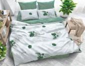 Постельное белье Svit New Line бязь ГОСТ 1,5-спальное 70х70 см арт.Модные листья серый