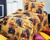 Детское постельное белье Svit бязь ГОСТ 1,5-спальное 70х70 см МОТОСПОРТ