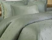 Постельное белье Mona Liza Royal МОЗАИКА ЗЕЛЕНАЯ-18 жаккард 2-спальный 4 наволочки